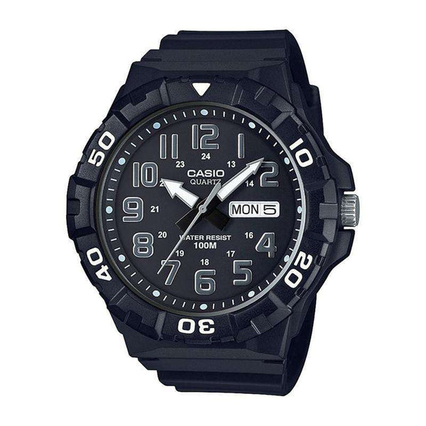 Casio Youth Analog Black Dial Men's Watch-MRW210H-1AVDF - TEXET