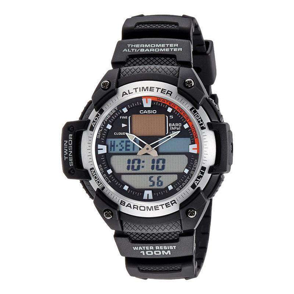 Casio Men's SGW400H-1B Sport Multi-Function Grey Dial Watch - TEXET