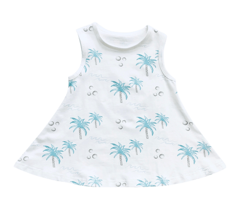 Coconut Swing Dress