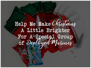 Help Me Make Christmas A Little Brighter For A Special Group of Deployed Marines