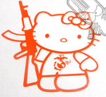 Load image into Gallery viewer, Hello Kitty & AK47 Decal