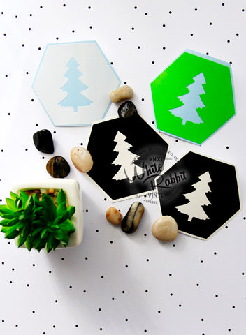 Adventure Hex Pine Tree Decal