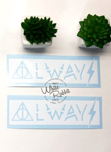 Harry Potter Always Decal