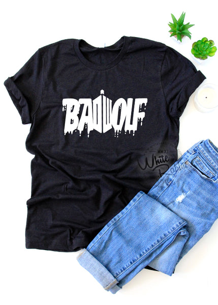 Doctor Who BadWolf TShirt
