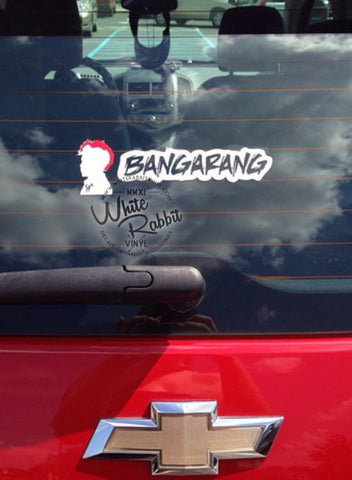 Bangarang Decal