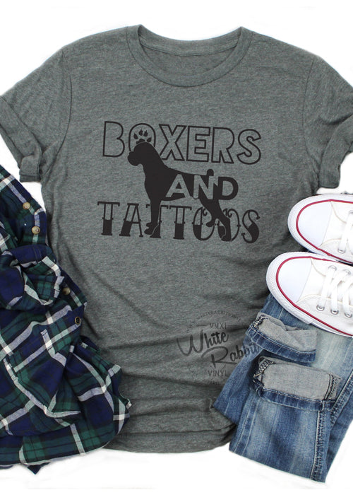 Boxers and Tattoos Unisex T-Shirt