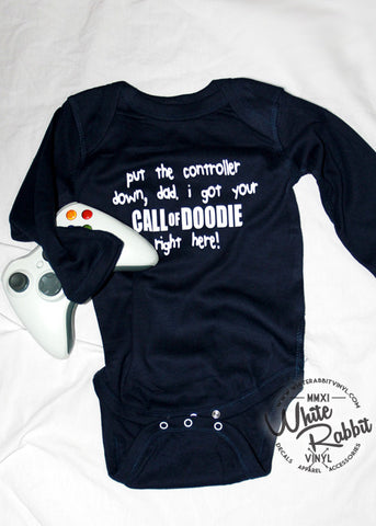 Call of Doodie Long Sleeve Infant Bodysuit