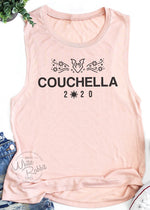 Load image into Gallery viewer, Couchella 2020 Women's Muscle Tank Top