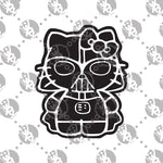 Load image into Gallery viewer, Darth Vader Hello Kitty Decal