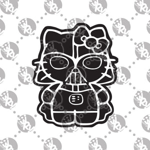 Darth Vader Hello Kitty Decal