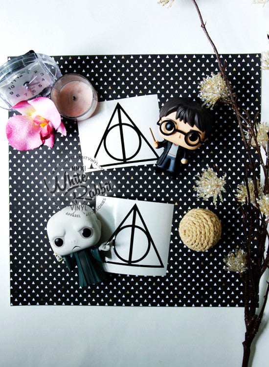 Deathly Hallows Decal