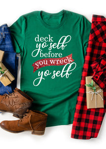 Deck Yo Self Before You Wreck Yo Self Unisex T-Shirt