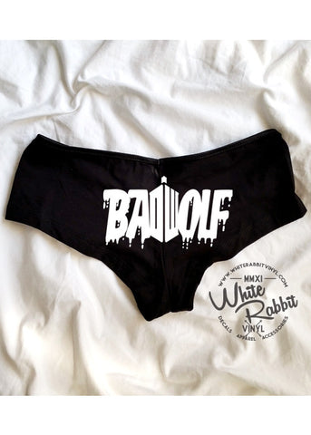 Hip Hugger Undies - Doctor Who Badwolf