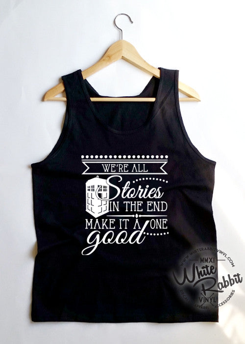 Doctor Who Quote Tank Top