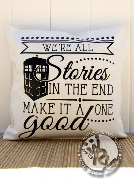 Doctor Who Inspired Pillow Case