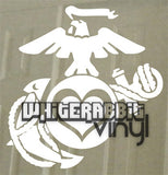 EGA Hearts Decal