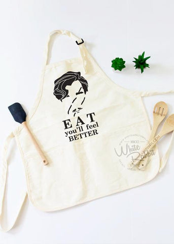 Eat You'll Feel Better Apron