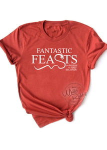 Fantastic Feasts and Where To Find Seconds Unisex T-Shirt