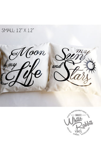 Game of Thrones Sun and Moon Pillow Case Set