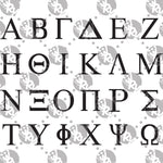 Load image into Gallery viewer, Sorority and Fraternity Greek Letters Decal