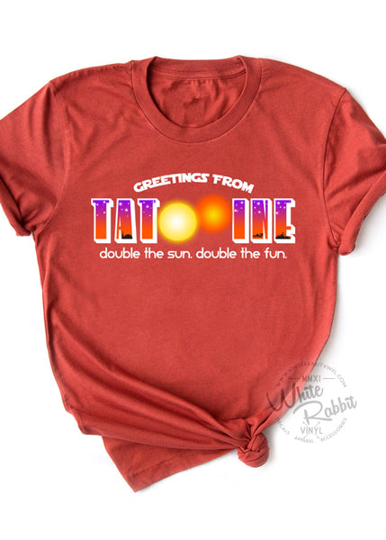 Greetings From Tatooine Short-Sleeve Unisex T-Shirt