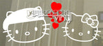 Load image into Gallery viewer, Hello Kitty USAF Security Forces Decal