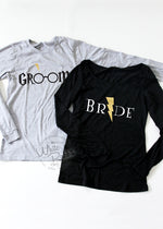 Load image into Gallery viewer, HP Bride Groom Long Sleeve Couple Set