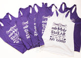 We Solemnly Swear We're Up To No Good Harry Potter Bachelorette Tank Tops