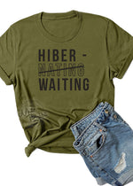 Load image into Gallery viewer, Hiber-Waiting Unisex T-Shirt
