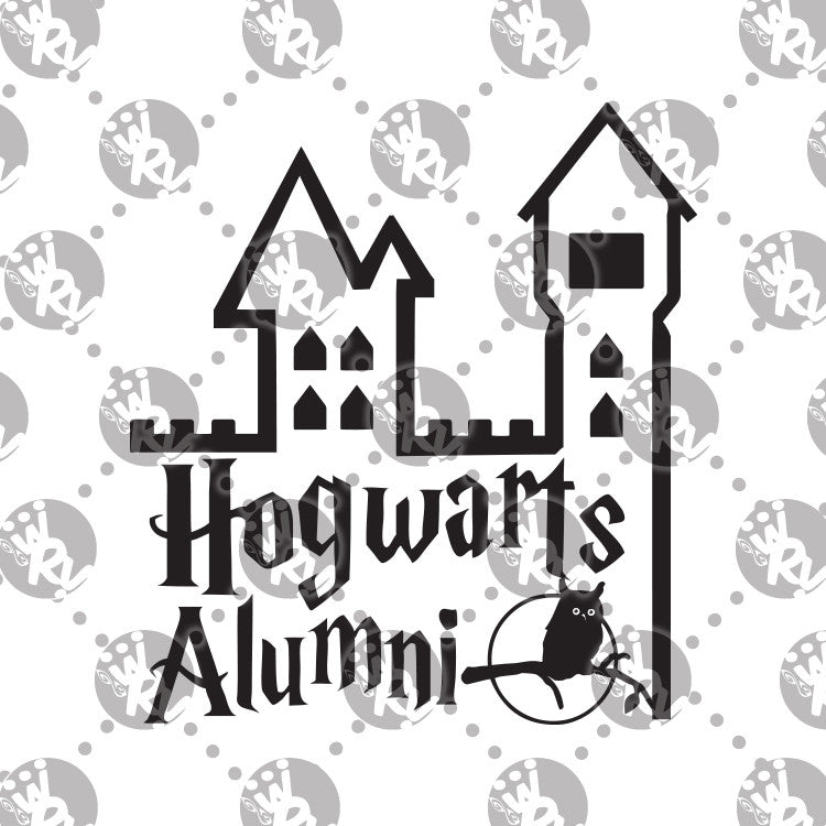 Hogwarts Alumni Decal