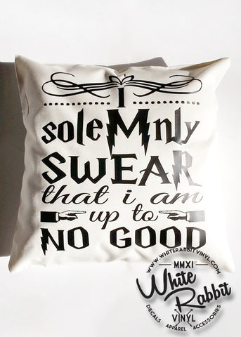HP I Solemnly Swear I'm Up To No Good Pillow Case