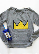 Load image into Gallery viewer, Riverdale Betty Jughead Crown Sweater