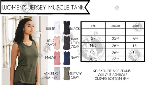 Menace To Sobriety Women's Muscle Tank Top