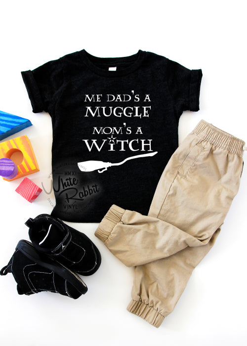 Me Dad's A Muggle Mom's A Witch
