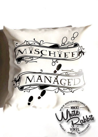 HP Mischief Managed Pillow Case