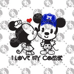 Load image into Gallery viewer, MnM Mouse Kiss - Coastie Decal