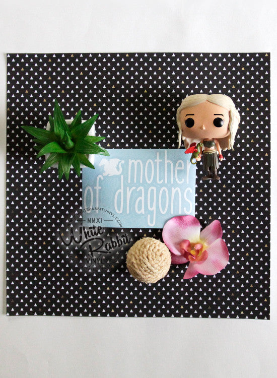 Mother of Dragons Decal