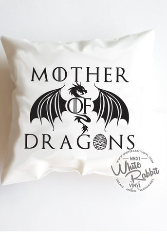 Mother of Dragons Pillow Case