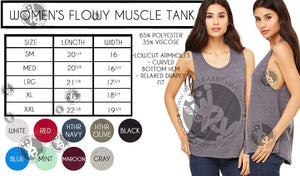 Pullups Ladies' Muscle Tank