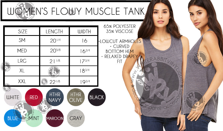 Clever Girl Women's Muscle Tank Top