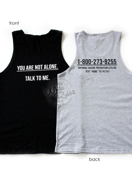Suicide Prevention Awarness Tees and Tanks