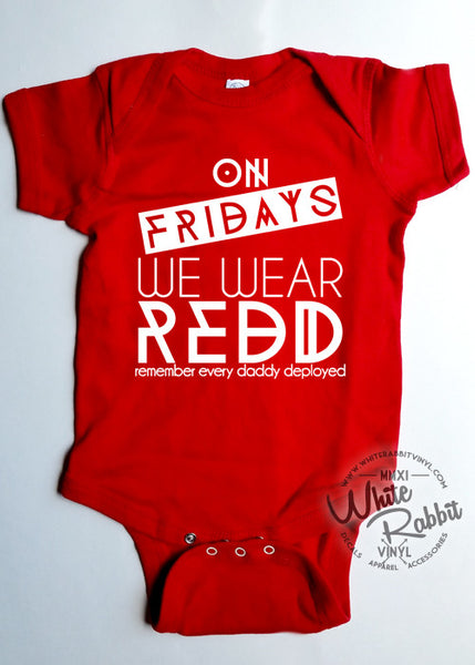 On Fridays We Wear REDD Short Sleeve Bodysuit