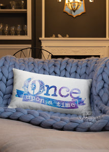 Once Upon A Time Rectangle Pillow