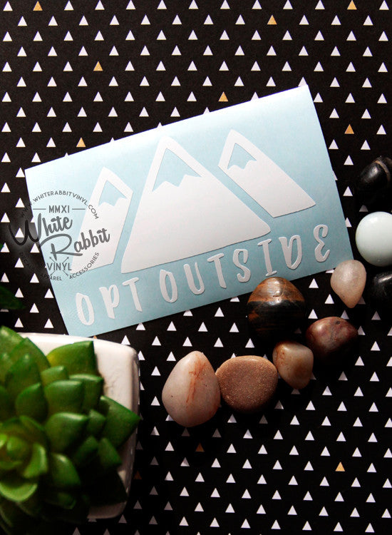 Opt Outside Decal