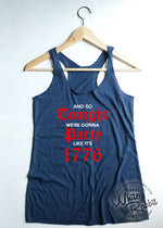 Load image into Gallery viewer, Party Like It's 1776 Women's Tank Top