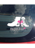 His & Hers Shoes Decal [Different Styles Available]