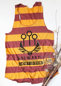 RTS_Discontinued Hogwarts Quidditch Tank Top