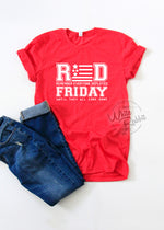 Load image into Gallery viewer, RED Friday T-Shirt