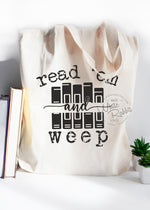 Load image into Gallery viewer, Read 'Em and Weep Tote Bag
