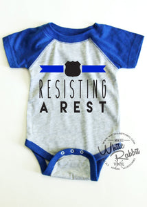 Resisting A Rest Short Sleeve Bodysuit [version 2]